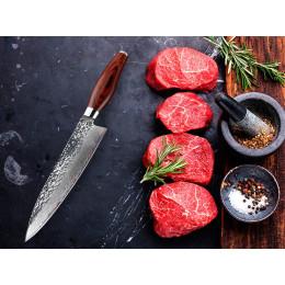 Damascus VG10 Knife  Cooking Tool set