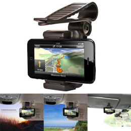 Car Sun Visor Mount Stand phone Holder Bracket