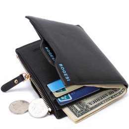 Men leather Wallet Purse