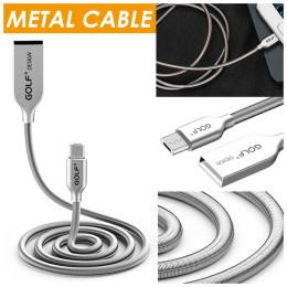 Golf Metal USB Cable