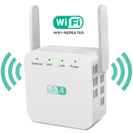 WD-611U 2.4GHz Wi-Fi Range Extender Booster 300Mbps WiFi Repeater