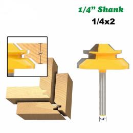 45 degree lock miter milling cutter bit shank woodworking tenon milling cutter