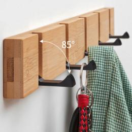Clothes hook wooden sticky hooks