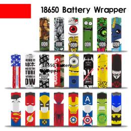 10pcs Cute 18650 Battery Wrapper