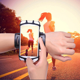 180°Sport Running Jogging Gym Arm band Wrist Band Phone Case Holder