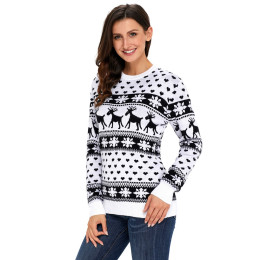 Christmas Women Lady Jumper Sweater Pullover Tops Coat