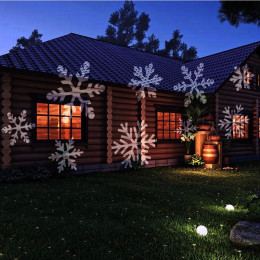 Christmas Snowflake Projector Lamp