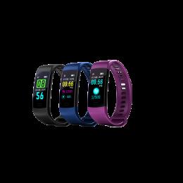 Y5 Color Screen Heart Rate Smart Bracelet