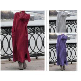 Loose-Knit Jumper Dress - Black, Navy & More!