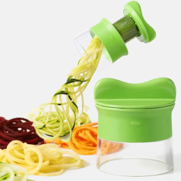 Handheld carrot potato cucumber spiral vegetable cutter