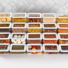 High quality storage box tableware bottle spice beans pasta