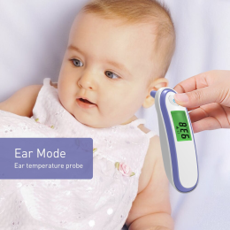 Baby Infrared Digital Thermometer LCD Body Measurement Термометр Forehead Ear Non-Contact Body Kids Thermometer